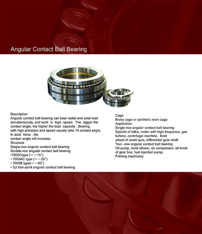 Angular contact ball bearings_(WAFANGDIAN BAISI BEARING